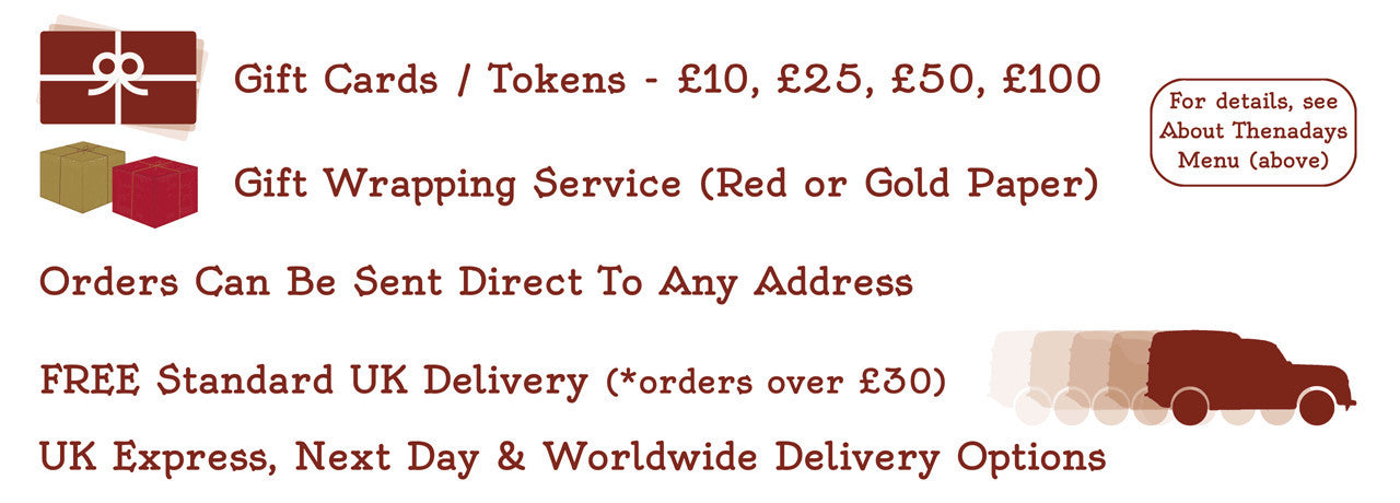 FREE Standard UK Delivery (orders over £30)