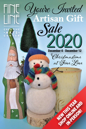 Artisan Gift Sale - Christmastime at Fine Line