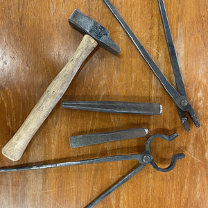 BLACKSMITH TOOL MAKING & FORGING