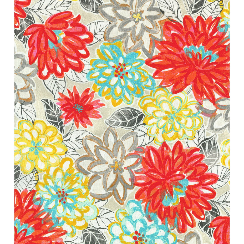 130100 Matisse Dance Scarlet Lake Pk Lifestyles Fabric