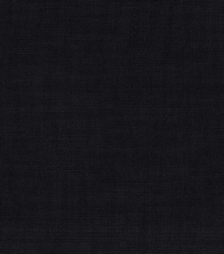 404049 Gramercy Solid Black Pk Lifestyles Fabric
