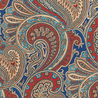404280 Vintage Blend Royal Pk Lifestyles Fabric