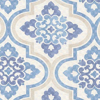 404332 Lattice Imprint Porcleain Pk Lifestyles Fabric