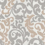 550080 Graceful Curves Linen Pk Lifestyles Fabric