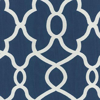 550092 Clearly Cool Indigo Pk Lifestyles Fabric