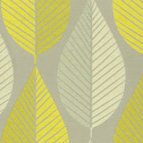 590100 Loose Leaf Citrine Pk Lifestyles Fabric