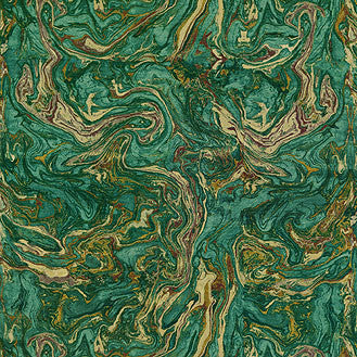 590520 Marbleized Teal Pk Lifestyles Fabric