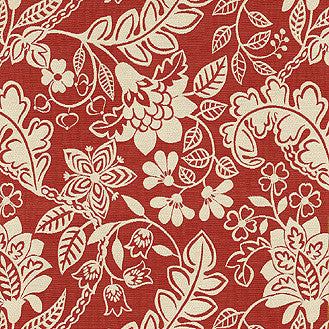 652703 Garden Flurry Poppy Pk Lifestyles Fabric