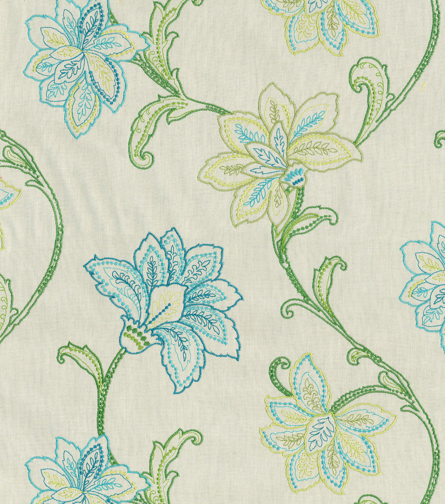 652910 Mystical Embr Jade Pk Lifestyles Fabric
