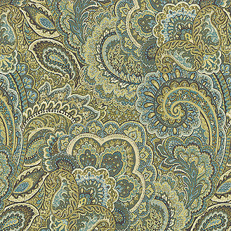 653054 Jewel Box Sea Grass Pk Lifestyles Fabric