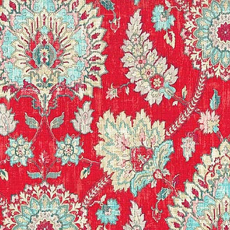 678351 Clifton Hall Strawberry Pk Lifestyles Fabric