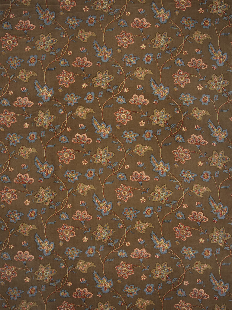Charleston Babette Rouge Floral Fabric