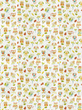 Charleston Ollie Owl Marmalade Animal Fabric
