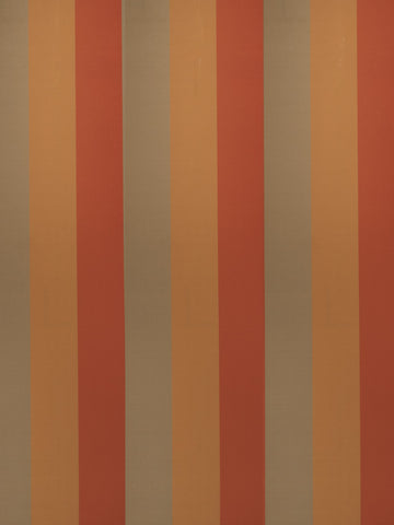 Charleston Palladium Copper Stripes Fabric