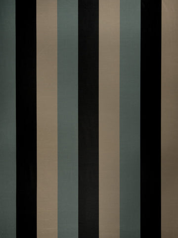 Charleston Palladium Storm Stripes Fabric