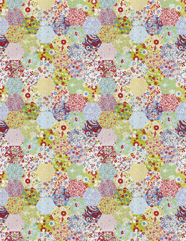 Charleston Picnic Patchwork Summer Juvenile Fabric
