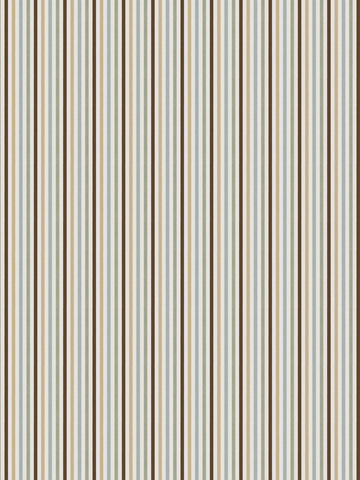 Charleston Rava Stripe Duckegg Stripes Fabric
