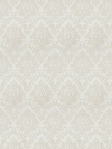 Charleston Ravishing Ivory Damask Fabric