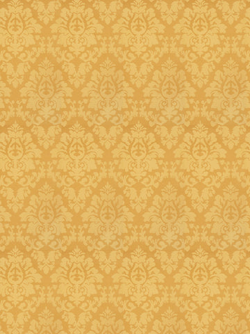 Charleston Ravishing Marigold Damask Fabric