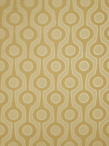 Charleston Roller Gold Contemporary Fabric