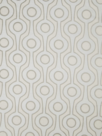 Charleston Roller Grey Contemporary Fabric