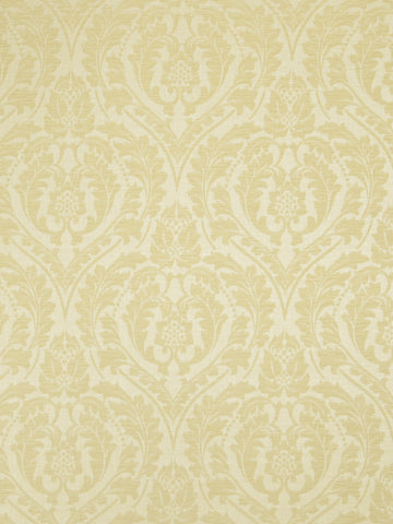 Charleston Salmson Ecru Damask Fabric