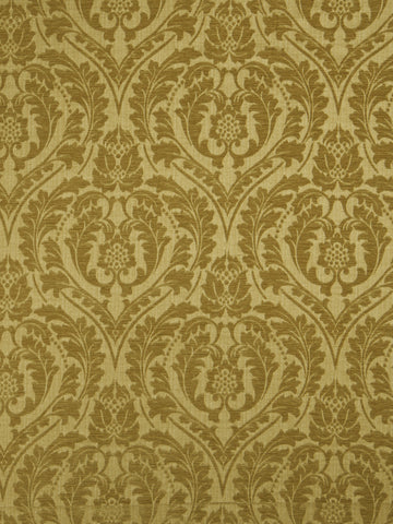 Charleston Salmson Gold Damask Fabric