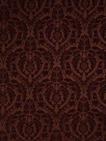 Charleston Salmson Henna Damask Fabric