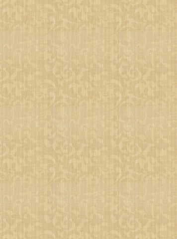 Charleston Spink Oyster Scrollwork Fabric