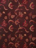 Charleston Swinton Aubergine Jacobean Fabric
