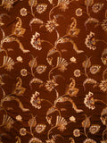 Charleston Swinton Cinnamon Jacobean Fabric
