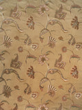 Charleston Swinton Sand Jacobean Fabric