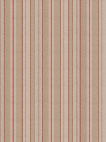 Charleston Tippet Persimmon Stripes Fabric
