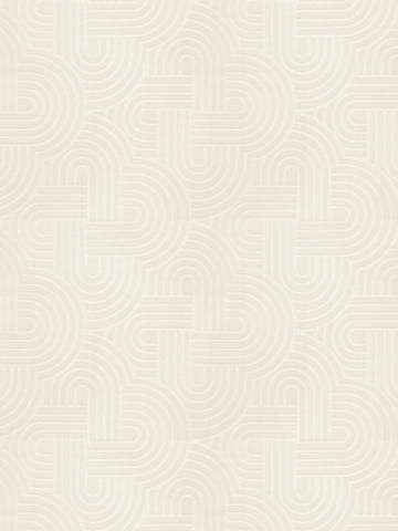 Charleston Tritt Cream Contemporary Fabric