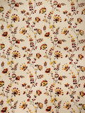 Charleston Wispy Floral Bright & White Floral Fabric