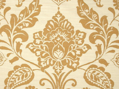 Covington Madagascar Double Cloth Antique Damask Fabric