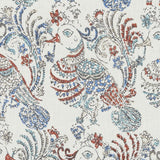 De42506-215 Ruwa, Multi Duralee Prints Fabric