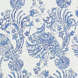 De42506-5 Ruwa, Blue Duralee Prints Fabric