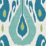 De42513-601 Fazil, Aqua/green Duralee Prints Fabric