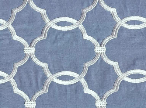 Fabricut Charlotte Moss Charlotte Pool Embroidered Fabric