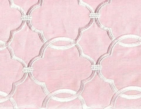 Fabricut Charlotte Moss Charlotte Rose Embroidered Fabric
