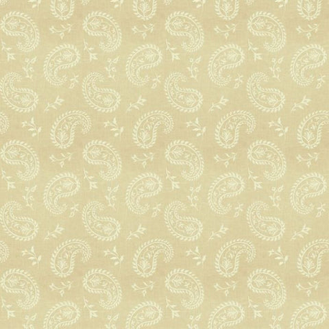 Fabricut Charlotte Moss Grenoble Canvas Embroidered Fabric