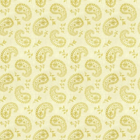 Fabricut Charlotte Moss Grenoble Citrus Embroidered Fabric
