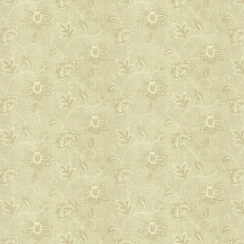 Fabricut Charlotte Moss Ripoli Canvas Embroidered Fabric