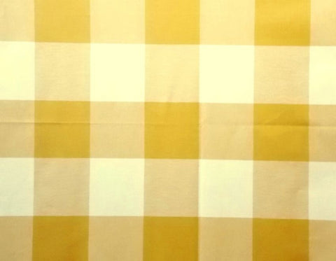P Kaufmann Call Me 117 Honey Check / Plaid Fabric