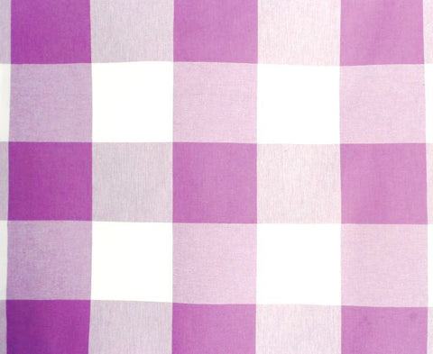 P Kaufmann Call Me 704 Lilac Check / Plaid Fabric