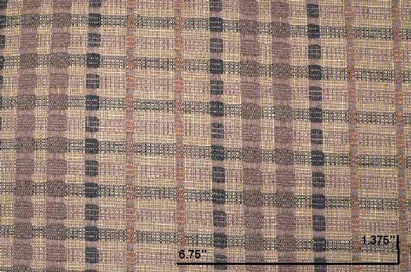 P Kaufmann Cameroon Mocha Check / Plaid Fabric