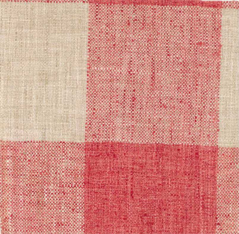 P Kaufmann Check Please 607 Coral Check / Plaid Fabric