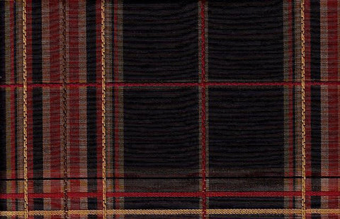 P Kaufmann Durness Onyx Check / Plaid Fabric