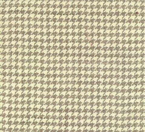 P Kaufmann Fenton V Pearl Grey Check / Plaid Fabric